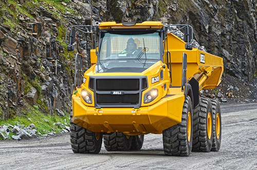 Bell Exclusively Selects Allison for its Articulated Dump Trucks