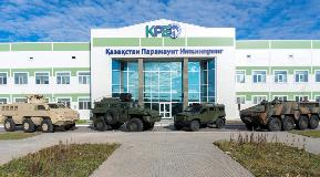 Kazakhstan Manufacturer of Armored Vehicles Relies on Allison Automatics
