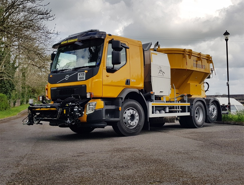 Allison transmission specified for new Archway Roadmaster road repair truck
