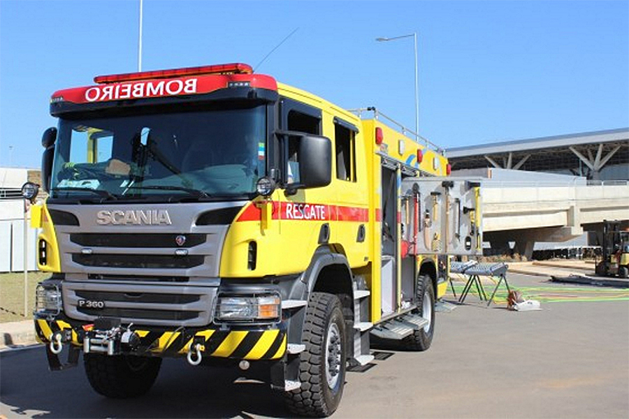 Specialty vehicle maker Triel-HT uses Allison fully automatic transmissions in airport fire trucks